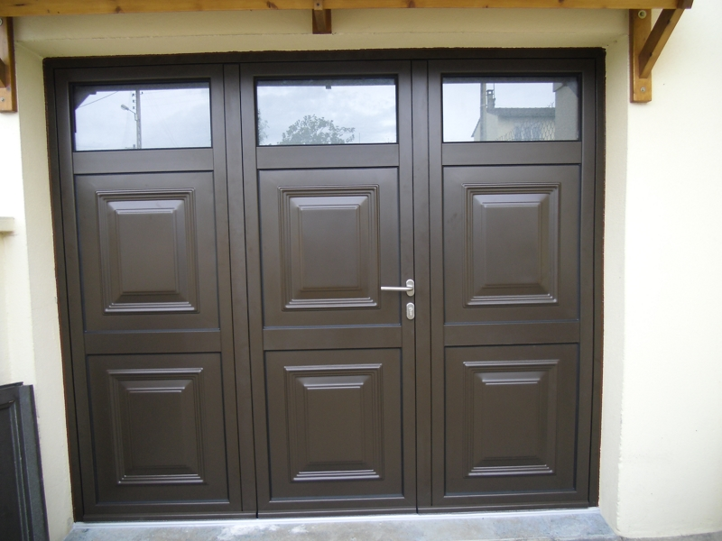 Portes de garage cidev technologie - Portes de garage sectionnelles motorisees ...