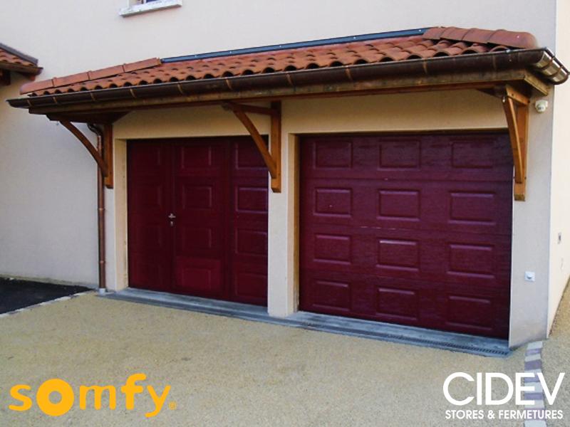 Portes de garage cidev technologie - Motoriser une porte de garage basculante ...